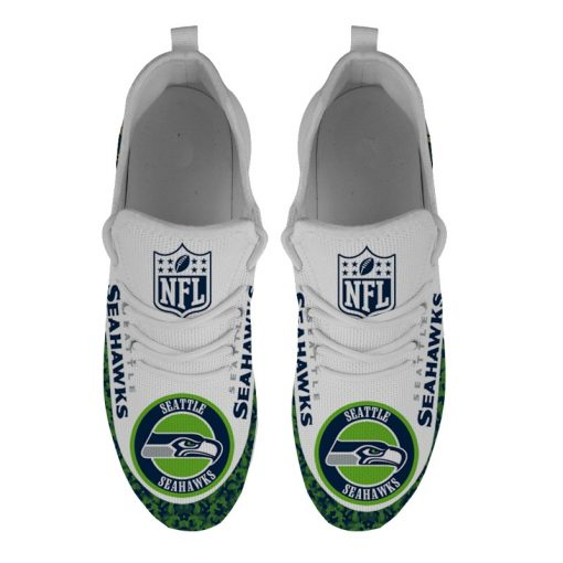 Running Shoes Customize Seattle Seahawks