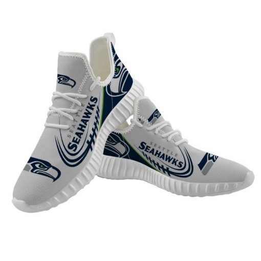 Yeezy Running Shoes Customize Seattle Seahawks