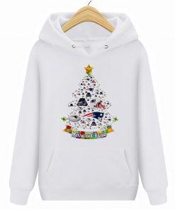 Merry And Bright New Streetwear Harajuku England 100 Cotton Patriots Christmas Hoodies Sweatshirts
