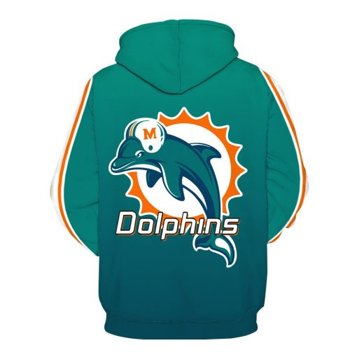 Miami Dolphins Football Fans Hoodies