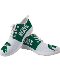 Michigan State Spartans Customize Low Top Sneakers College Students