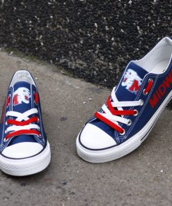 Midway Panthers Limited High School Students Low Top Canvas Shoes Sport