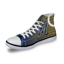 Milwaukee Brewers Lace-Up Shoes Sport
