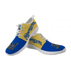 Milwaukee Brewers Fans Flats Wading Shoes Sport