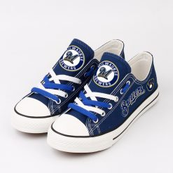 Brewers Limited Low Top Canvas Sneakers