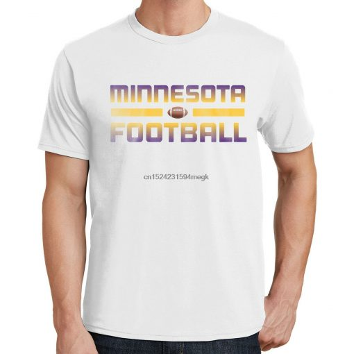 Minnesota Football T Shirt Vikings Sports Team 3290