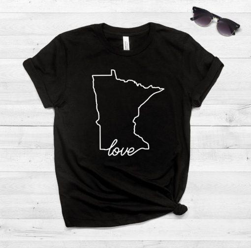 Minnesota Home print Women tshirt Cotton Casual Funny t shirt For Lady Yong Girl Top Tee