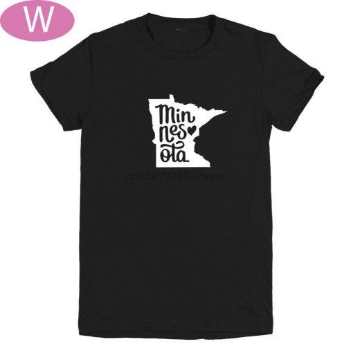 Minnesota State Love Women s T SHIRTS