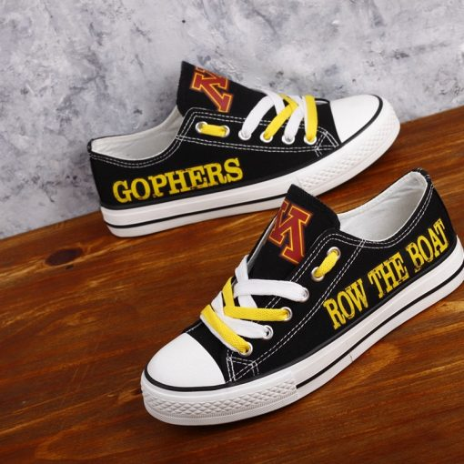 MinnesotaGoldenGophers Limited Low Top Canvas Sneakers