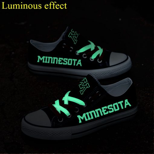 Minnesota Golden Gophers Limited Luminous Low Top Canvas Sneakers