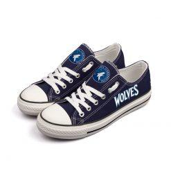 Minnesota Timberwolves Low Top Canvas Shoes Sport