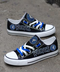 Minnesota Timberwolves Limited Low Top Canvas Shoes Sport