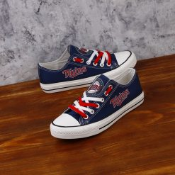 Minnesota Twins Limited Low Top Canvas Sneakers