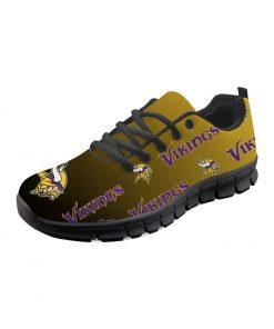 Minnesota Vikings Custom 3D Print Running Sneakers