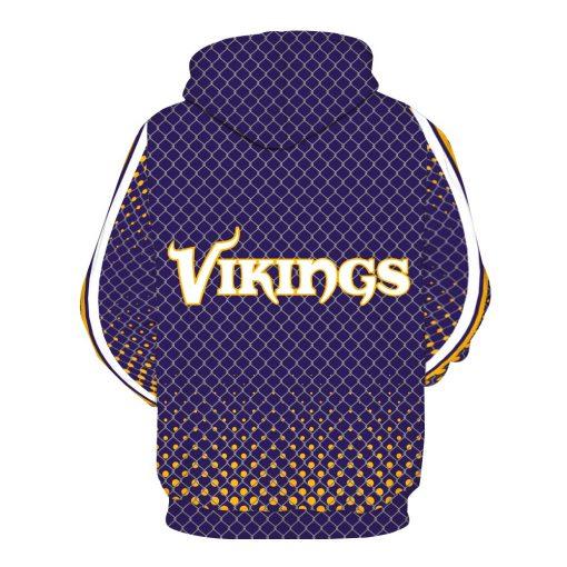 Minnesota Vikings Football Fans Hoodies