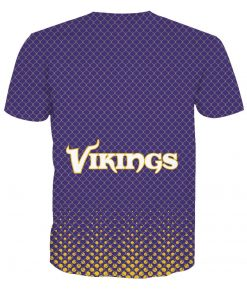 Minnesota Vikings Football Fans Casual T-shirt