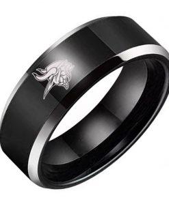 Minnesota Vikings Tungsten Rings