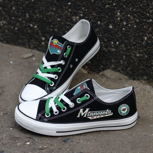 Minnesota Wild Limited Low Top Canvas Sneakers