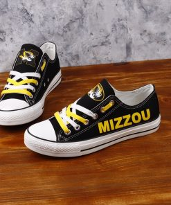 MissouriTigers Limited Low Top Canvas Sneakers