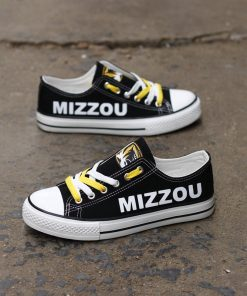 MissouriTigers Limited Low Top Canvas Shoes Sport
