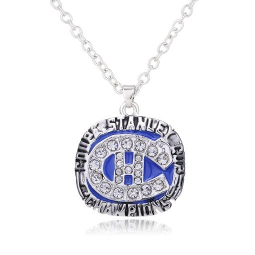 Montreal Canadiens 1986 Championship Necklace