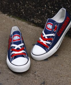Montreal Canadiens Limited Low Top Canvas Sneakers
