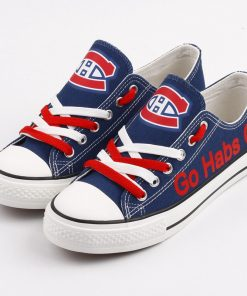 Montreal Canadiens Limited Low Top Canvas Shoes Sport