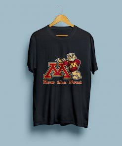 NEW Limited Row the Boat Minnesota Gophers Vinyl T Shirt Logo Size S 2XL
