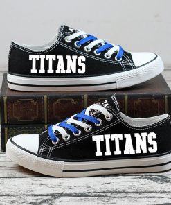 Tennessee Titans Halloween Jack Skellington Canvas Shoes Sport