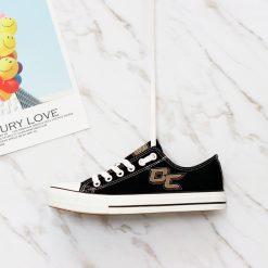 Anaheim Ducks Low Top Canvas Shoes Sport