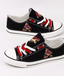 Arizona Coyotes Low Top Canvas Shoes Sport
