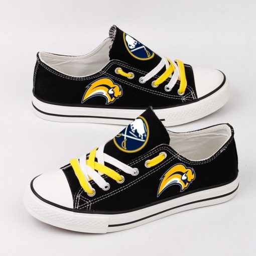 Buffalo Sabres Fans Low Top Canvas Shoes Sport