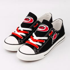 Carolina Hurricanes Limited Low Top Canvas Shoes Sport