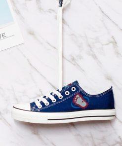 Colorado Avalanche Fans Low Top Canvas Shoes Sport