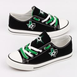 Dallas Stars Low Top Canvas Shoes Sport