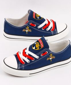 Florida Panthers Fans Low Top Canvas Shoes Sport