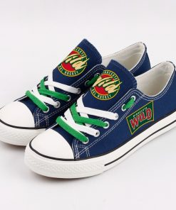 Minnesota Wild Fans Low Top Canvas Shoes Sport