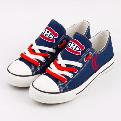 Montreal Canadiens Fans Low Top Canvas Shoes Sport