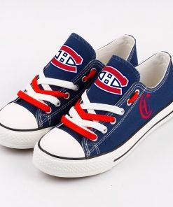 Montreal Canadiens Fans Low Top Canvas Shoes Sport