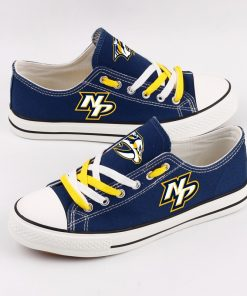 NHL Ice Hockey Nashville Predators Fans Low Top Canvas Shoes Sport Sneakers T DWAA17L 1584172884823 1