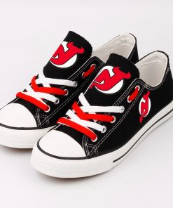 New Jersey Devils Fans Low Top Canvas Sneakers
