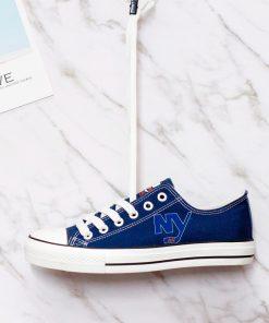 New York Islanders Fans Low Top Canvas Shoes Sport