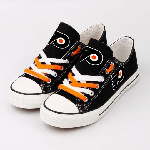 NHL Ice Hockey Philadelphia Flyers Fans Low Top Canvas Shoes Sport Sneakers T DWAA22H 1584174963371 0