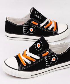 Philadelphia Flyers Low Top Canvas Sneakers