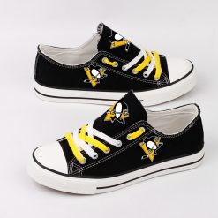 Pittsburgh Penguins Fans Low Top Canvas Sneakers