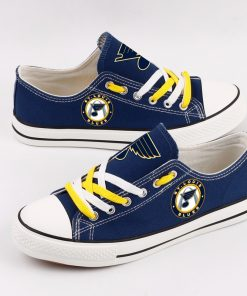 St. Louis Blues Fans Low Top Canvas Shoes Sport