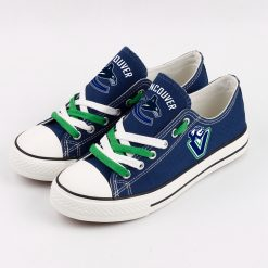 Vancouver Canucks Fans Low Top Canvas Sneakers