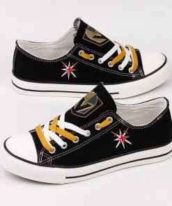 Golden Knights Fans Low Top Canvas Shoes Sport