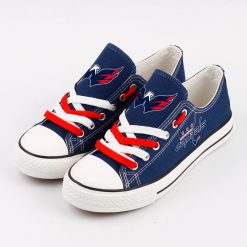 Washington Capitals Fans Low Top Canvas Sneakers