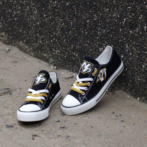 Nashville Predators Limited Low Top Canvas Sneakers